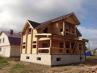 Профессиональная сборка деревянных домов и бань - main