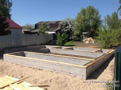 Строительство фундамента - main