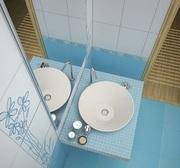 Керамическая плитка для ванной - foto 0