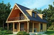 Строительство дачных домов,  бань из бревна,  из бруса или каркасных бан - foto 1