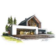 Проектирование Домов,  коттеджей,  бань,  смета,  строительство
