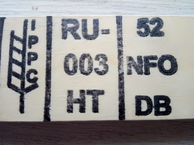 Термообеззараживание (фумигация) деревянной тары - main