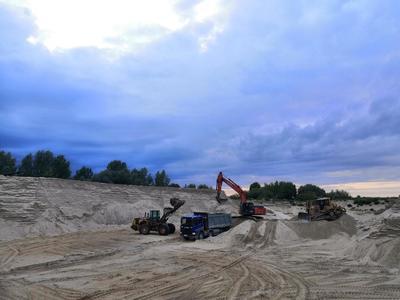 Доставка речного песка в Нижнем Новгороде от производителя.  - main